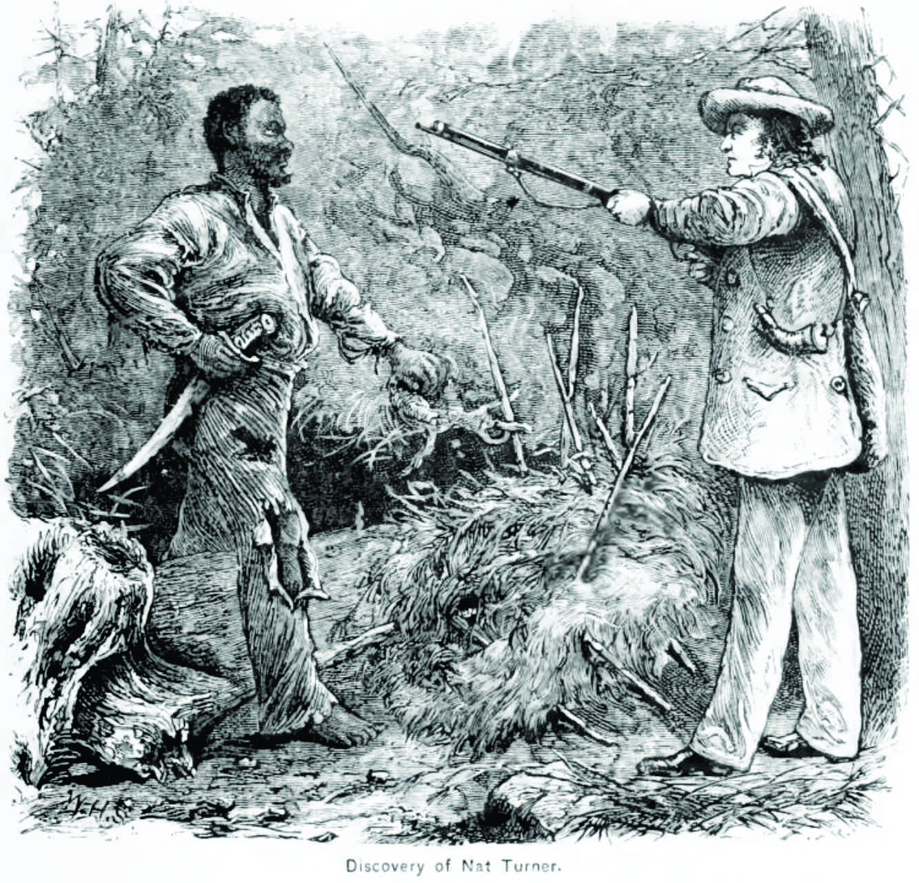 capture of Nat Turner