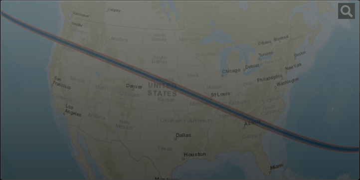 Here Are The Best Maps Of The 2017 Solar Eclipse And A Printable